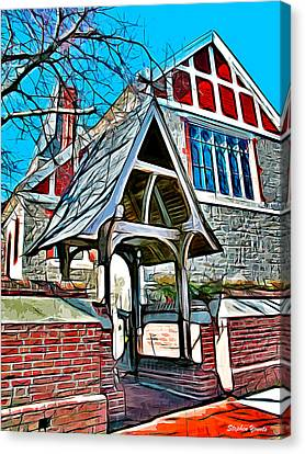 Christ Church Of St Michaels Canvas Print by Stephen Younts