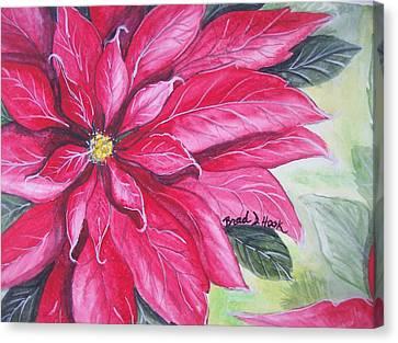 Christmas Cheer Canvas Print by Brad Hook