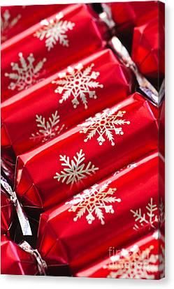 Christmas Crackers Canvas Print by Elena Elisseeva