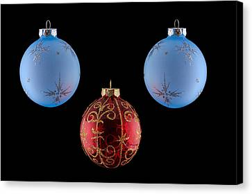 Christmas Ornaments Canvas Print by Doug Long