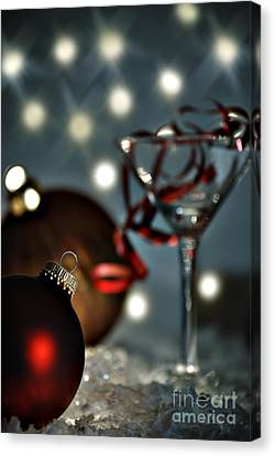 Christmas Party Canvas Print by HD Connelly