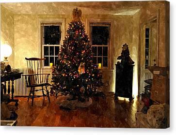Christmas Past Cpwc Canvas Print