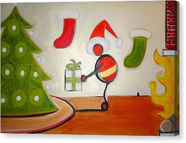 Christmas Spirit Canvas Print by Cory Green
