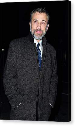 Christoph Waltz At Arrivals For 2009 Canvas Print