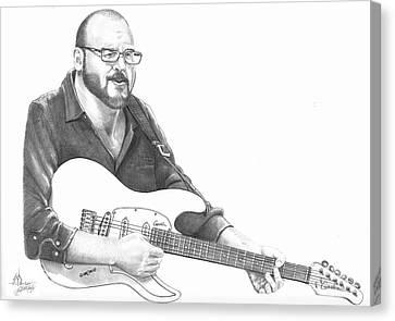 Christopher Murphy Elliott Canvas Print by Murphy Elliott