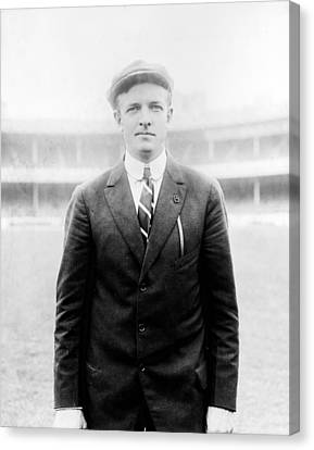 Christy Mathewson - Major League Baseball Player Canvas Print by International  Images