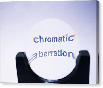 Chromatic Aberration Canvas Print by Andrew Lambert Photography