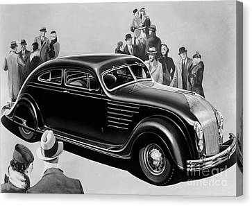 Chrysler Airflow Canvas Print by Photo Researchers