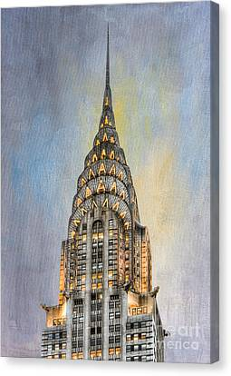 Chrysler Building I Canvas Print by Clarence Holmes
