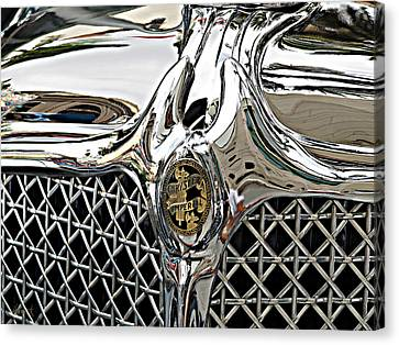 Chrysler Imperial Canvas Print by John Huneck