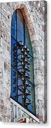 Church Bells Canvas Print by Shirley Mitchell