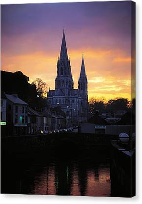 Church In A Town, Ireland Canvas Print by The Irish Image Collection