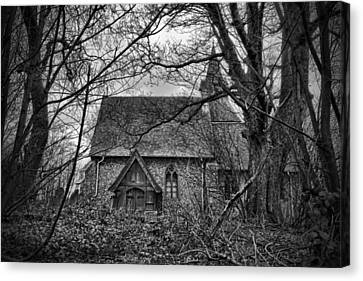 Church In The Woods Canvas Print by Dave Godden