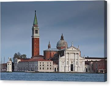 Church Of San Giorgio Maggiore Venice Italy Canvas Print