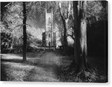 Country Lanes Canvas Print - Church Of St Mary Magdalene by Simon Marsden