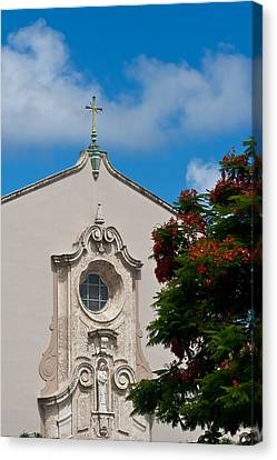 Canvas Print featuring the photograph Church Of The Little Flower by Ed Gleichman