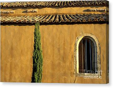 Church. Provence Canvas Print by Bernard Jaubert