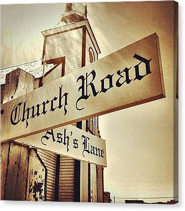 Igaddict Canvas Print - Church Road by Christopher Campbell