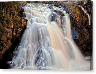 Chutes Du Diable Canvas Print