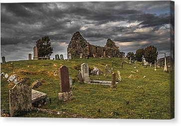 Cill Chriosd Churchyard Canvas Print