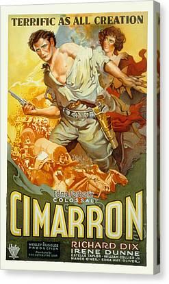 Cimarron, Richard Dix, Irene Dunne, 1931 Canvas Print by Everett