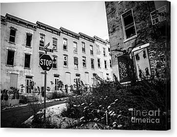 Cincinnati Glencoe-auburn  Abandoned Buildings Canvas Print by Paul Velgos