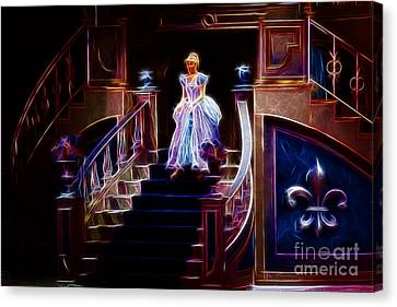Cinderella Enters The Ball Canvas Print by Darleen Stry