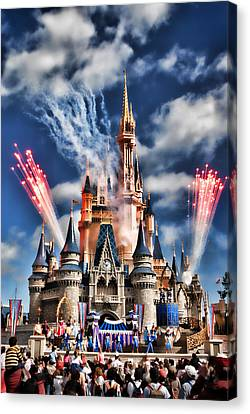 Cinderella's Castle Canvas Print by Brent Craft