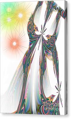 Cinderella's Wedding Night Canvas Print by Maria Urso