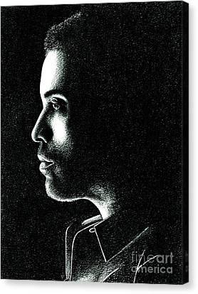 Cinna Canvas Print by Crystal Rosene