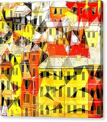 Cinque Canvas Print