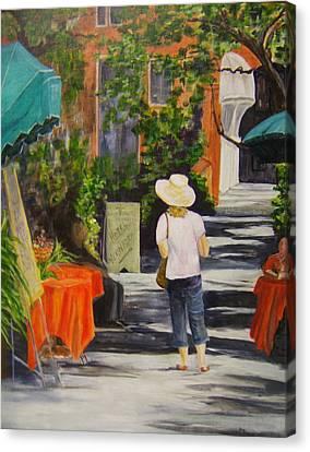 Cinque Terre Stroll Canvas Print