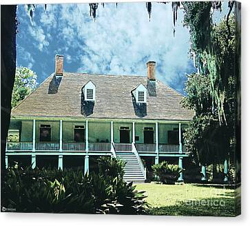 Circa 1750 Parlange Plantation New Roads La Canvas Print