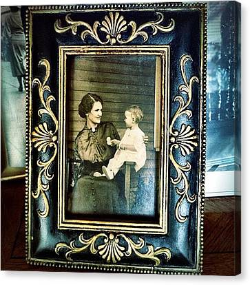 Circa 1900s Portrait Canvas Print by Natasha Marco