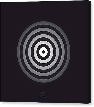 Circle Optic V13.1 Canvas Print by Guardians of the Future