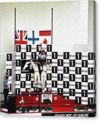 Canadian Grand Prix Canvas Print - Circuito De Jerez 1997 by Juergen Weiss