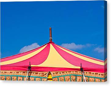 Circus Tent Top  Canvas Print by Tom Gowanlock