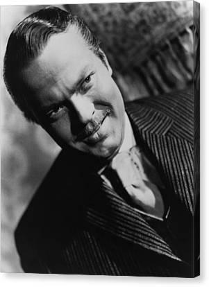 1941 Movies Canvas Print - Citizen Kane, Orson Welles, 1941 by Everett