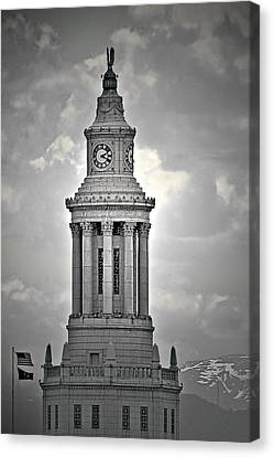 City And County Of Denver Building Canvas Print by Christine Till