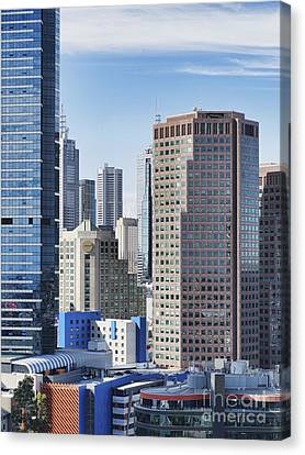 City Buildings Canvas Print by Dave & Les Jacobs