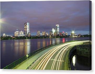 City Flow Canvas Print by Eric Hill