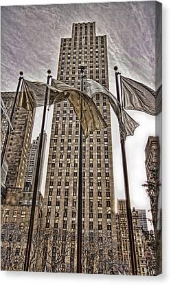 City Glitz Canvas Print by Anne Rodkin