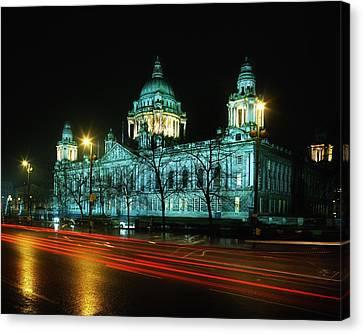 City Hall, Belfast, Ireland Canvas Print by The Irish Image Collection