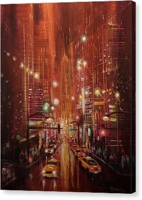 City Lights 2 Canvas Print by Tom Shropshire