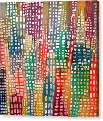 City Lights II Canvas Print