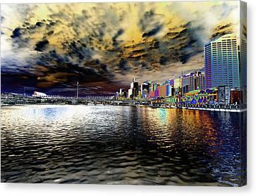 City Of Color Canvas Print by Douglas Barnard