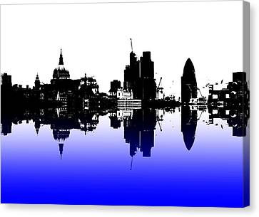 City Of Culture Canvas Print by Sharon Lisa Clarke