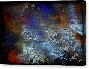 City Of Man Canvas Print by The Art Of JudiLynn