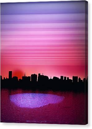 City Of My Dreams Canvas Print by Jan W Faul