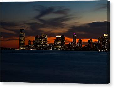 City Skies Canvas Print by Michael Murphy